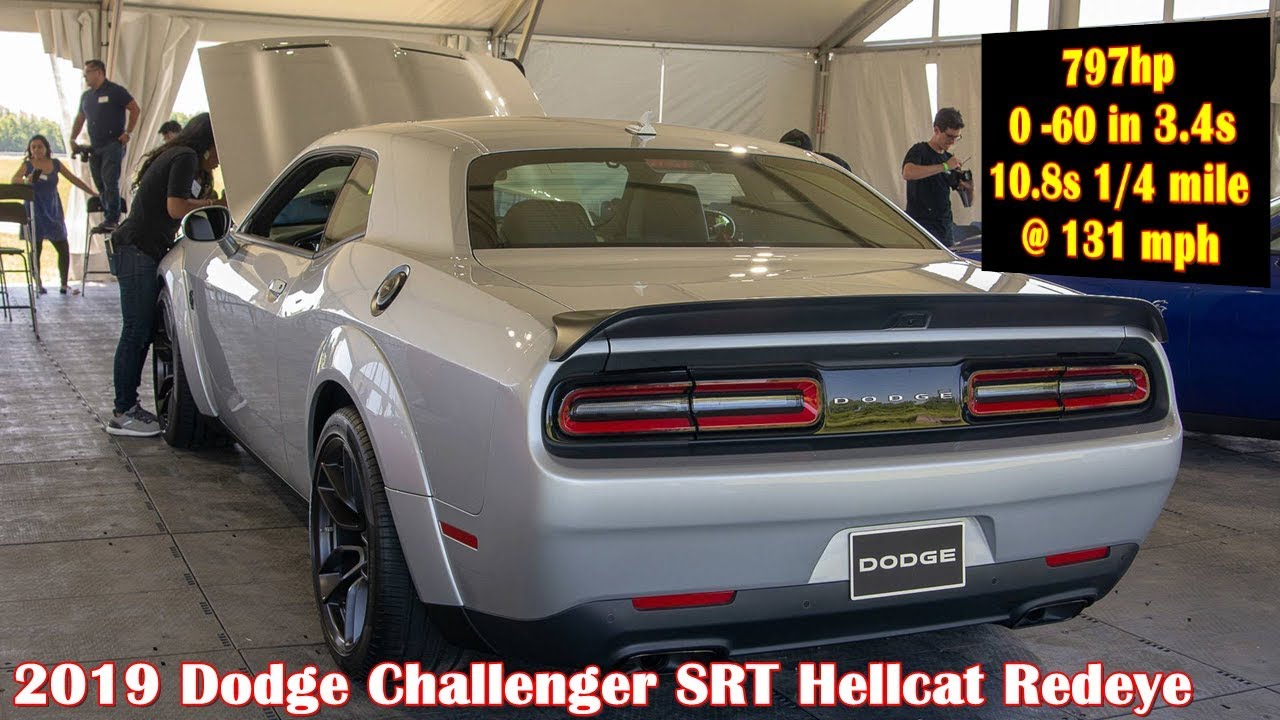 797hp 2019 Challenger Hellcat Redeye Widebody Youtube
