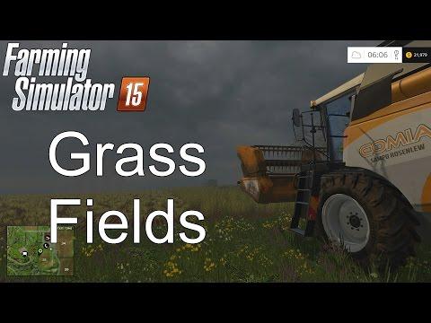 Farming Simulator '15 Tutorial: Planting Grass Fields