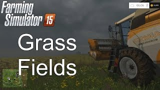 Farming Simulator '15 Tutorial: Planting Grass Fields
