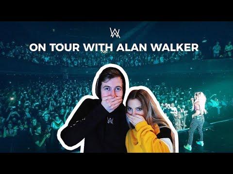 """ Singing on Tour with Alan Walker "" part 1"