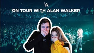 """ Singing on Tour with Alan Walker "" part 1"