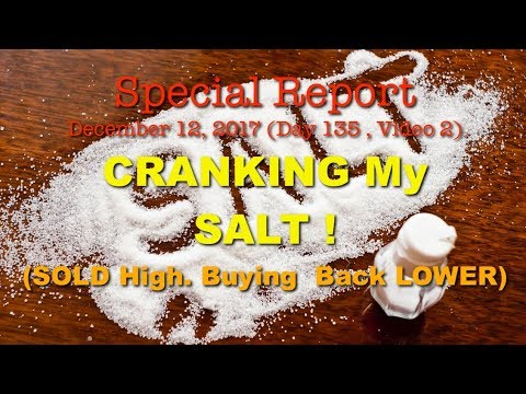 Buying Back SALT AfterTaking Profits CryptoCrankersSpecial 135.02