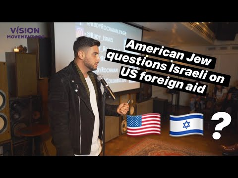 American Jew Questions Israeli On US Foreign Aid