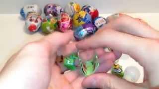 Barbie Frozen Play doh cans Kinder Surprise Eggs dippin dots toys