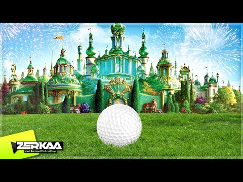 MINIGOLF IN A CASTLE! (Golf It)