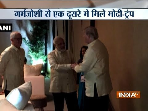 ASEAN Summit: PM Modi meets US President Donald Trump in Manila