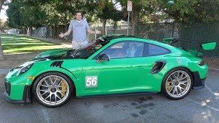 видео: Porsche 911 GT2RS - это безумнейший 911 в истории