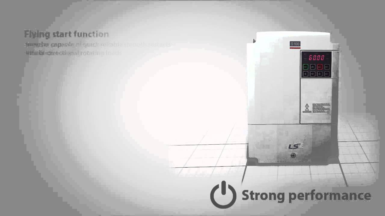 Ls Industrial Systems S100 Standard Ac Inverter Drive From Dalroad Wiring Diagram Youtube