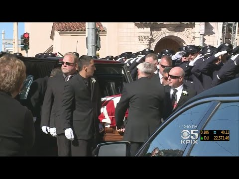 Firefighters In San Francisco Remember Veteran Battalion Chief