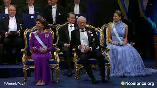 2017 Nobel Prize: Arrival of the Swedish Royal Family and laureates