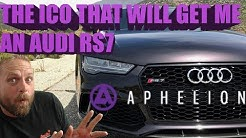 Aphelion ICO and why I've Backed it!