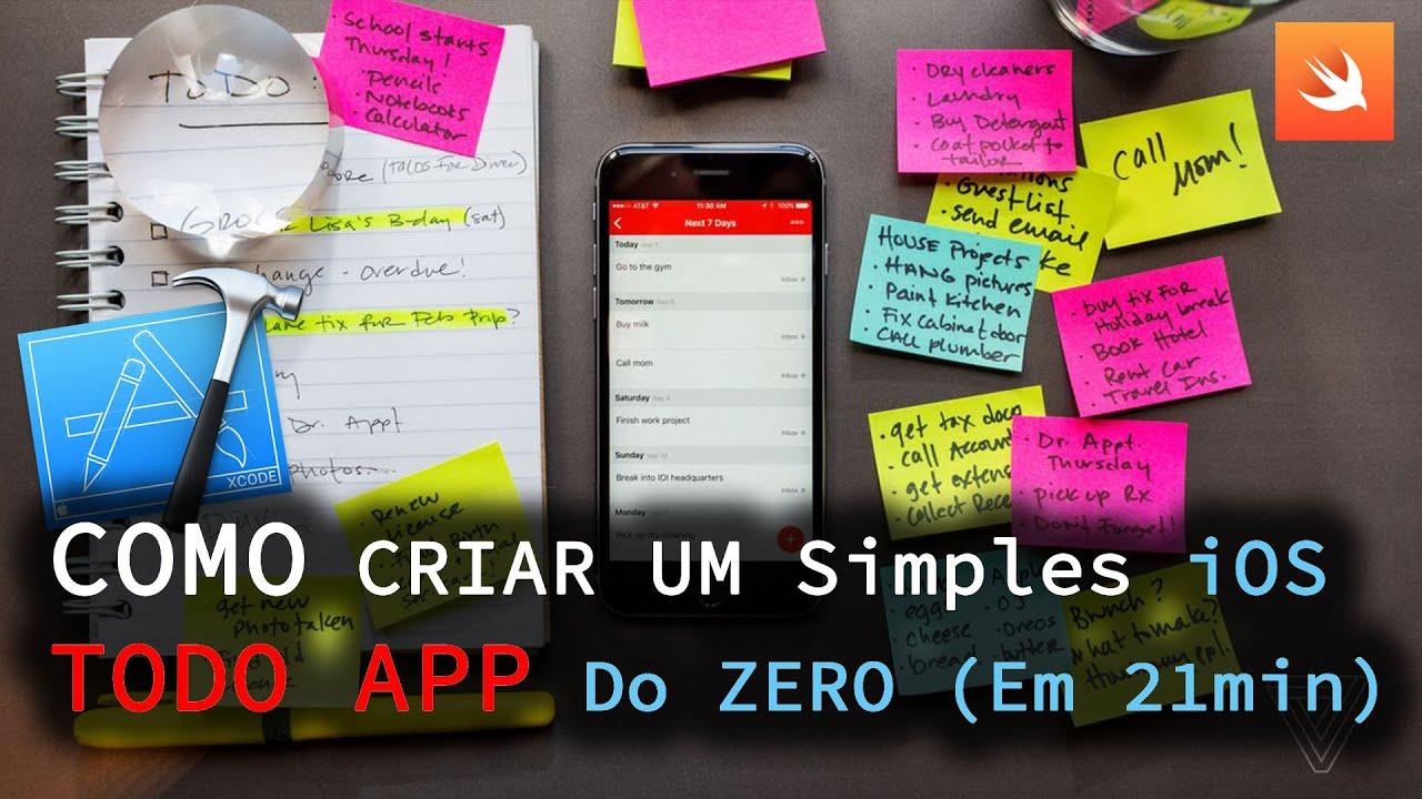 iOS SWIFT TODO-LIST TUTORIAL   COMO CRIAR APPS DE LISTAS   TIAGO AGUIAR