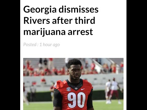 Chauncey Rivers UGA Defensive End Kicked Off Team