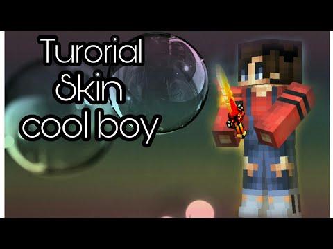 Tutorial:skin cool boy (pixel gun 3d)