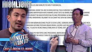 Luis, binasa ang isang fan mail para kay Master Long | Minute To Win It