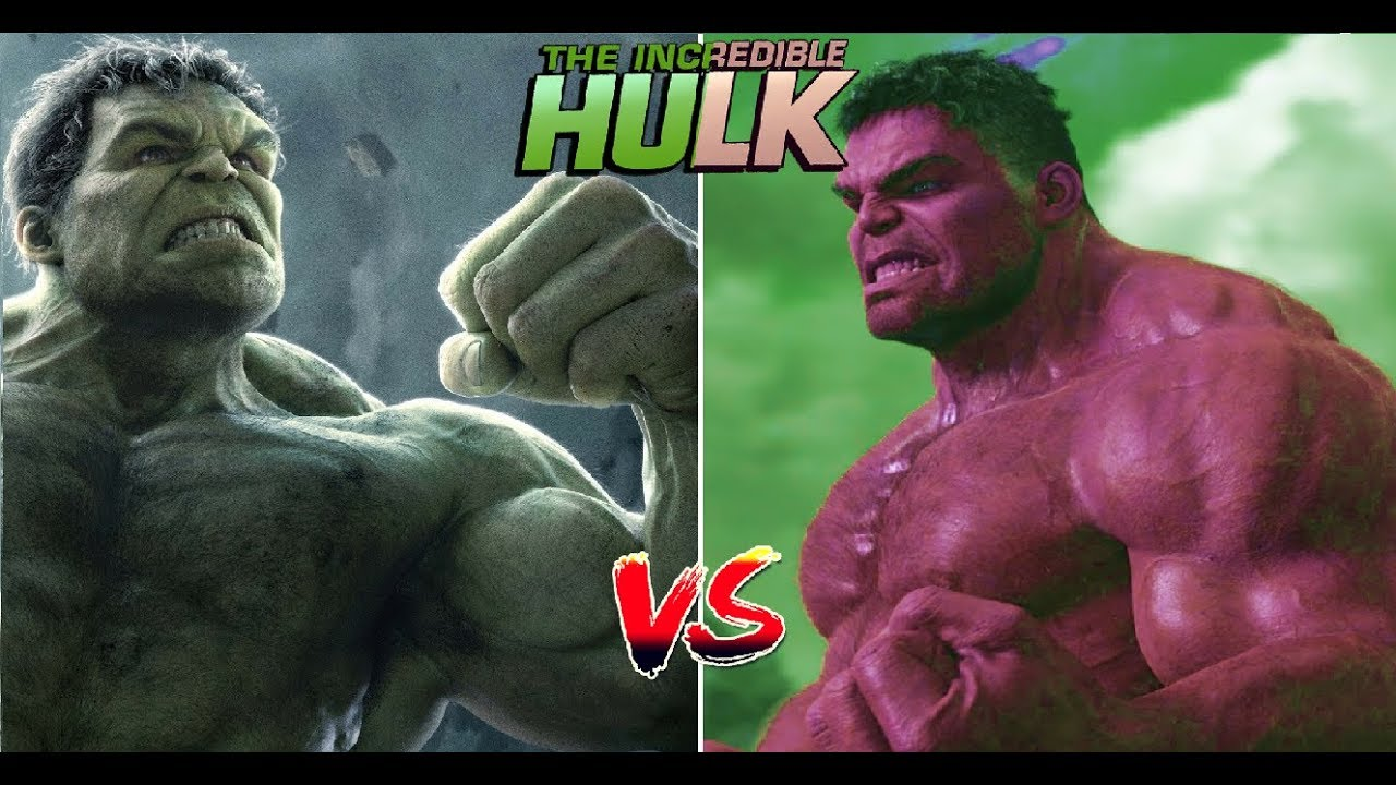Download The Avengers - Marvels Hulk vs Red Hulk Transformation Epic Fight Fan Made