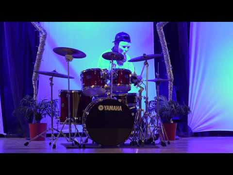 Drum solo @ East Naples Middle School Talent Show part 02