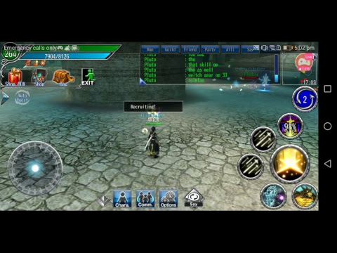 Paladin And Luminous Class Pvp At Nr (No Rules) Zone In Avabel Online