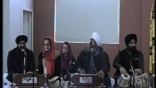 Bhai Yadvinder Singh, Kiranjit Singh and Amrita Kaur