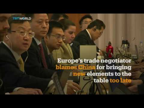 Money Talks: China's European trade spat