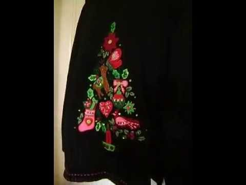 Quacker Factory Light Up Christmas Sweater eBay item 252150654630