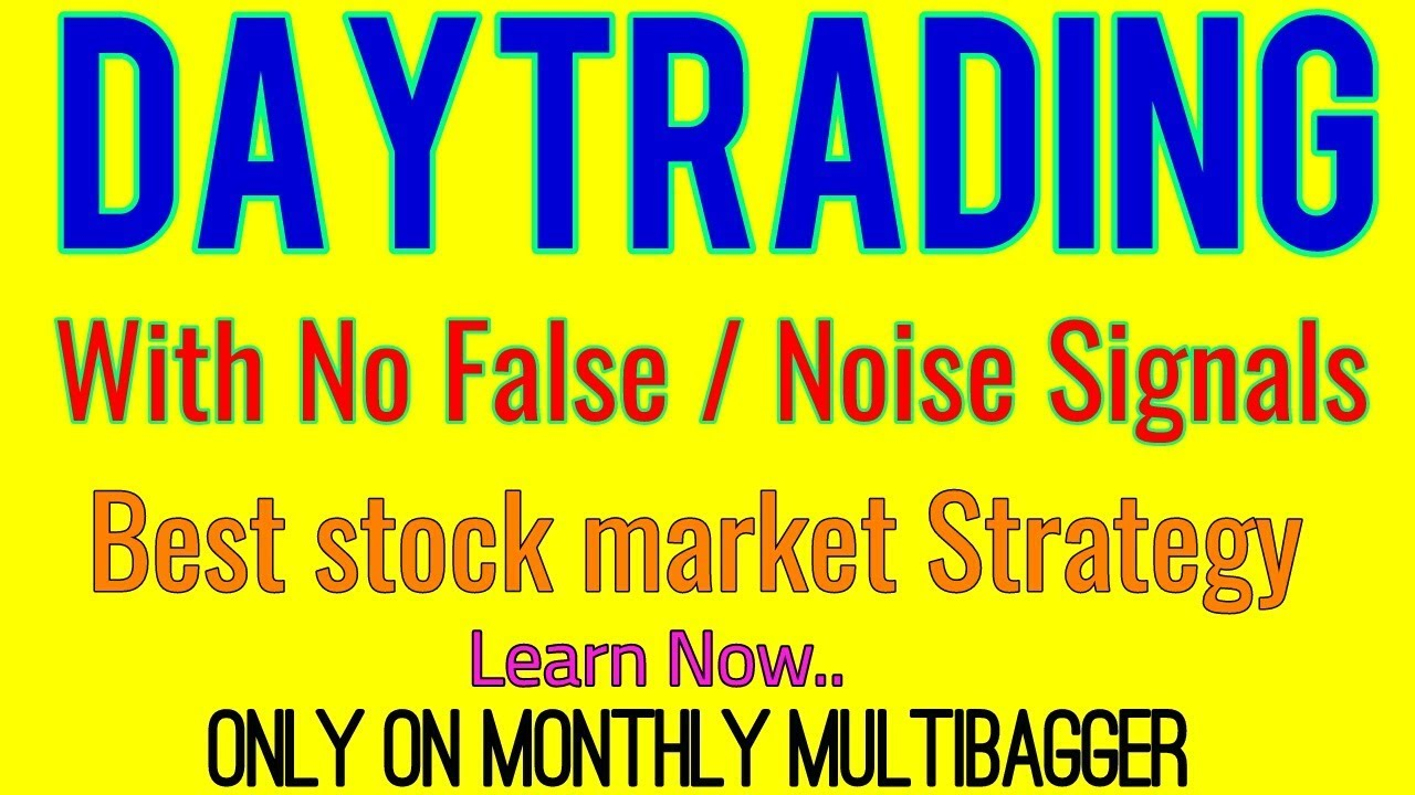 Trading strategies noise