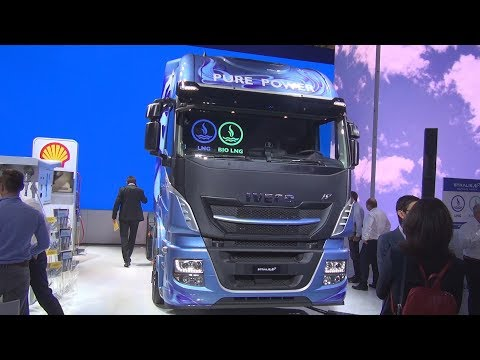 Iveco Stralis AS440S46T/P NP Natural Power Tractor Truck (2019) Exterior and Interior
