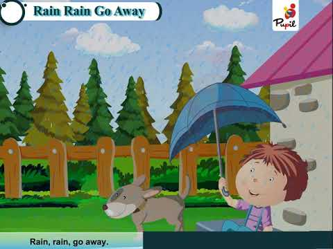 Rain Rain go away । Pupil Series | Rhymes_A | Aagam Books International Pvt. Ltd