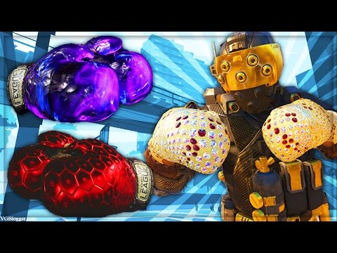 """DARK MATTER TO DIAMOND"" - BLACK OPS 3 BOXING GLOVES!! (CALL OF DUTY: BLACK OPS 3)"