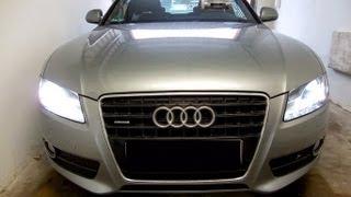 Xenon tauschen, Audi A5 TDI 3.0, linker Scheinwerfer, D3S