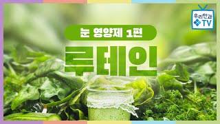 [우리안과TV] 눈 영양제 1편 - 루테인