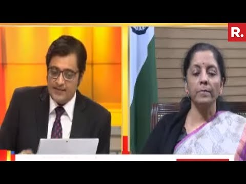Arnab Goswami Speaks To Nirmala Sitharaman | Exclusive