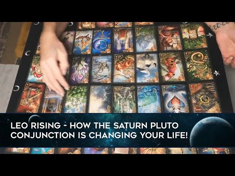 LEO RISING January 2020 - You Cut Away What's Pulling You Down! SATURN PLUTO CONJUNCTION!