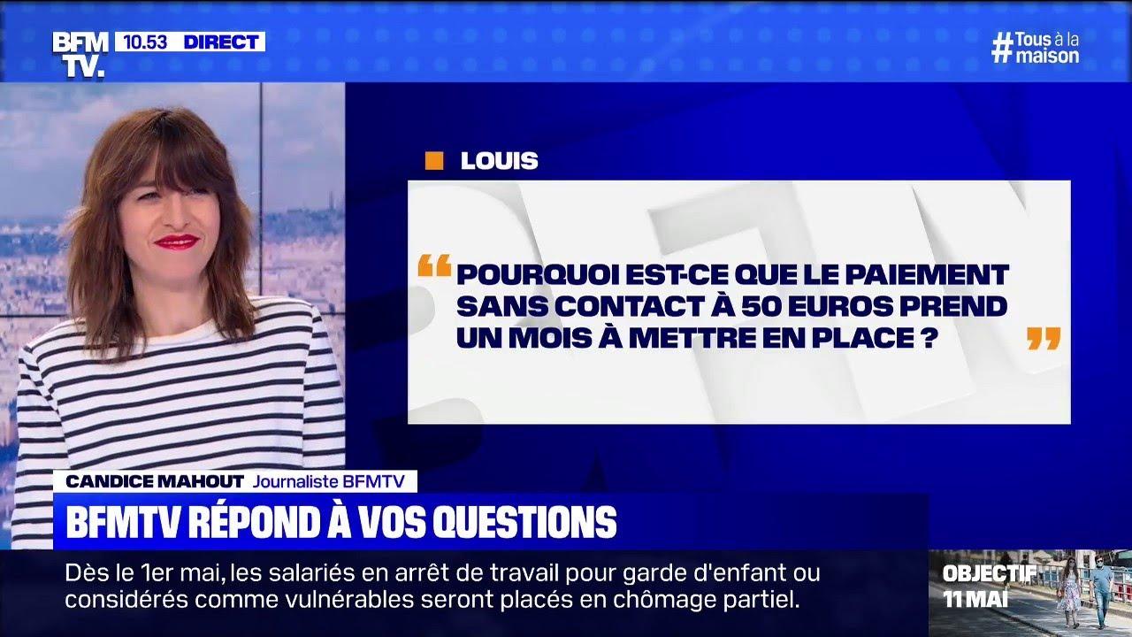 Pourquoi le paiement sans contact à 50 euros prend un mois à se mettre en place? BFMTV vous répond
