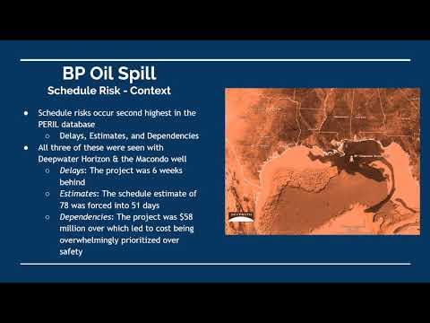 Risk   BP Oil Spill Presentation 4th Video