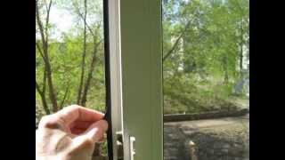 видео Антимоскитная сетка на дверь на магнитах: преимущества, особенности, монтаж