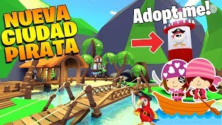 NEW PIRATA CITY 😱 IN ADOPT ME ROBLOX!