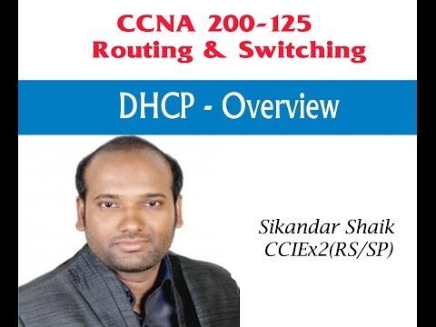 DHCP-Overview - Video By Sikandar Shaik || Dual CCIE (RS/SP) # 35012
