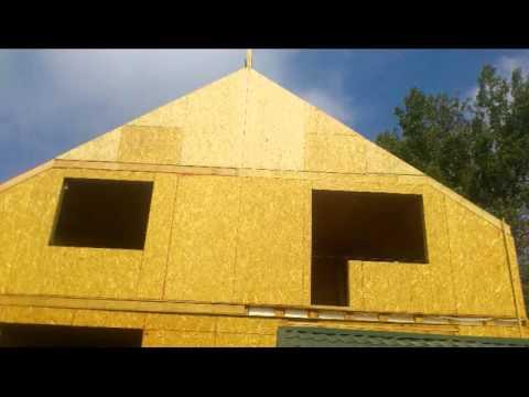 видео: Строительство домов из Сип панелей по канадской технологии