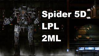 "MechWarrior Online : SDR-5D ""Slasher"" (1x LPL, 2x MLas, ECM, 1x JJ, XL235)"