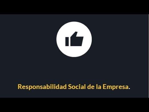 Responsabilidad Social de la Empresa ¿Qué es?