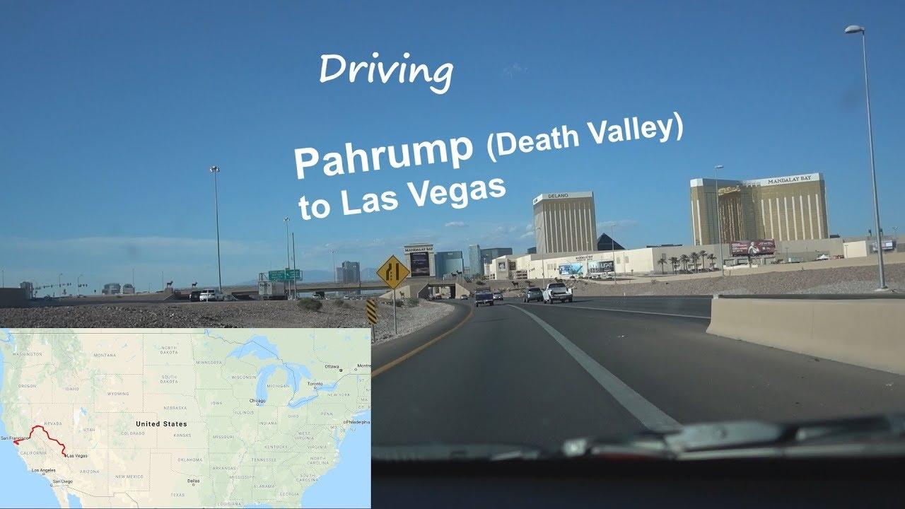 Pahrump To Las Vegas >> Driving Pahrump To Las Vegas