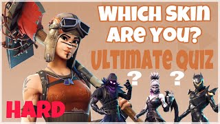 WHICH FORTNITE SKIN ARE YOU? ULTIMATE QUIZ/TEST! P2