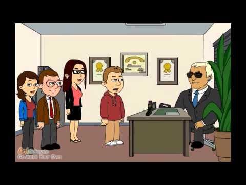 Cartoon Video  Business Communications