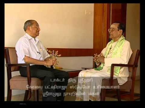 T M Soundararajan &  Dr S Srihari Interview about Pakshiraja Studios and S M Sriramulu Naidu