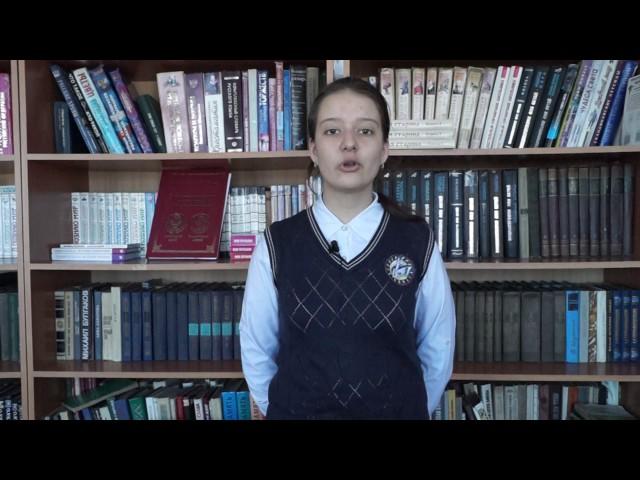 Изображение предпросмотра прочтения – ПолинаГорупай читает произведение «От жизни той, что бушевала здесь» Ф.И.Тютчева
