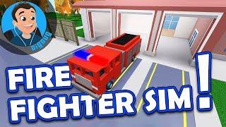 Wow eine coole neue Wendung auf Roblox Simulatoren mit Roblox Firefighter Simulator!