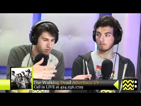 "Walking Dead After Show  Season 2 Episode 8 ""Nebraska"" | AfterBuzz TV"