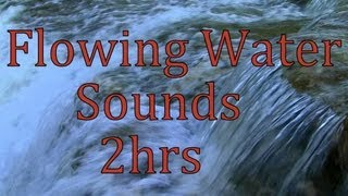 """Flowing Water Sounds"" 2Hrs Cow Creek ""Sleep Sounds"""