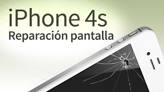 iPhone 4s cambiar pantalla: Tutorial español y FAQ